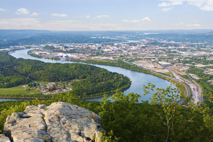 View from Lookout Mountain, TN