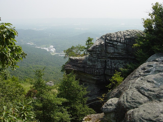 rock city with views of Chattanooga