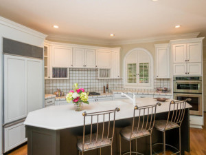 spacious kitchen in 1 Woodhill Drive home