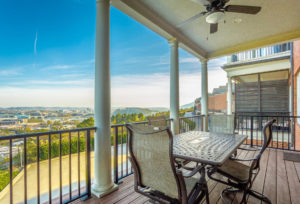 The balcony of 554 Whitehall Rd 116